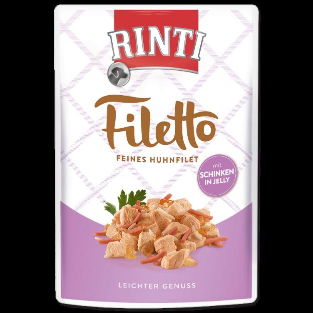 Kapsicka RINTI Filetto kure + šunka v želé 100g
