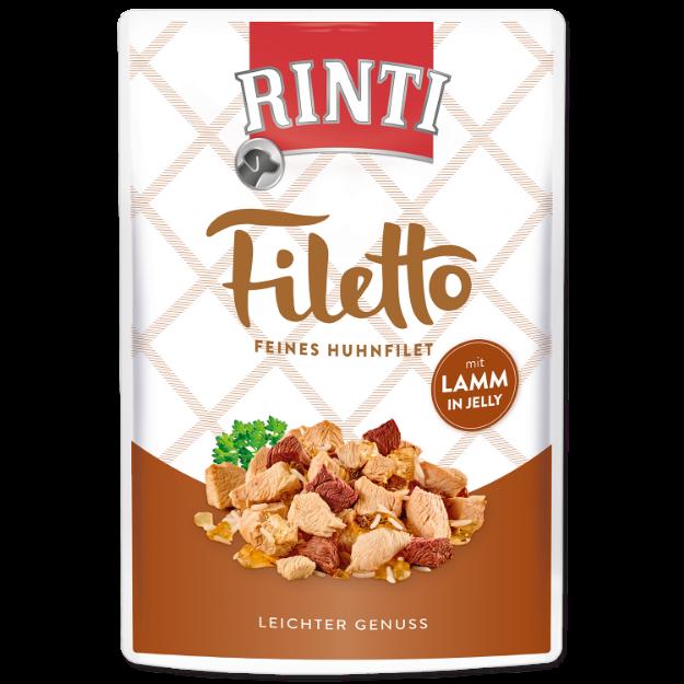 Kapsicka RINTI Filetto kure + jehne v želé 100g