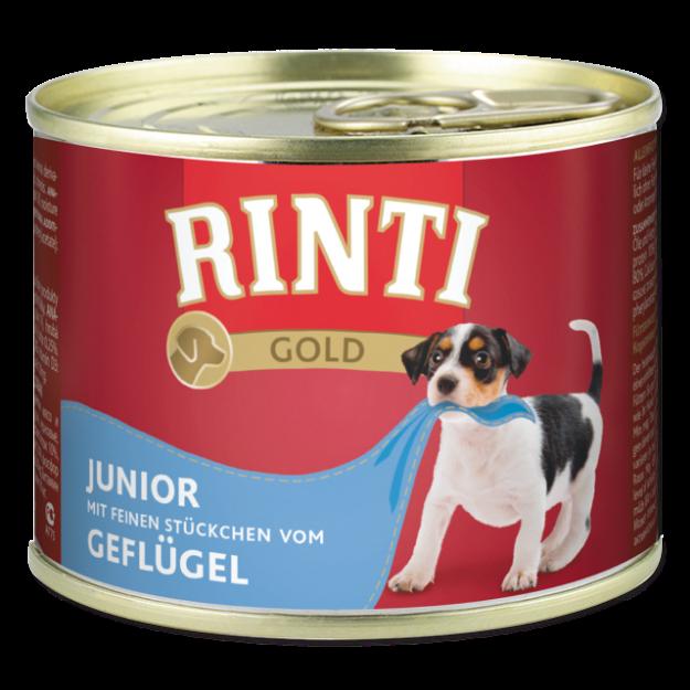 Konzerva RINTI Gold Junior drubeží 185g