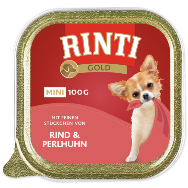 Vanicka RINTI Gold Mini hovezí + perlicka 100g