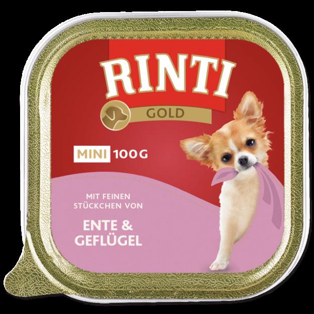 Vanicka RINTI Gold Mini kachna + drubež 100g