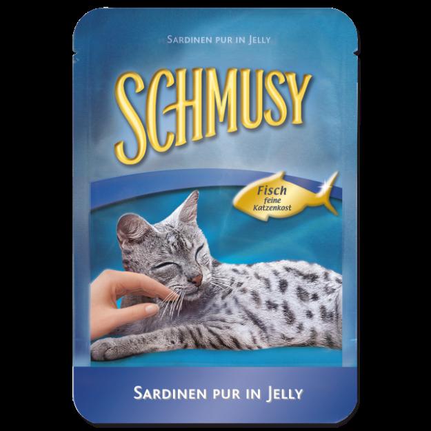 Kapsicka SCHMUSY Fish sardinky v želé 100g