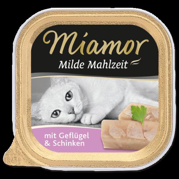 Picture of Vanička MIAMOR Milde Mahlzeit drůbež + šunka 100g