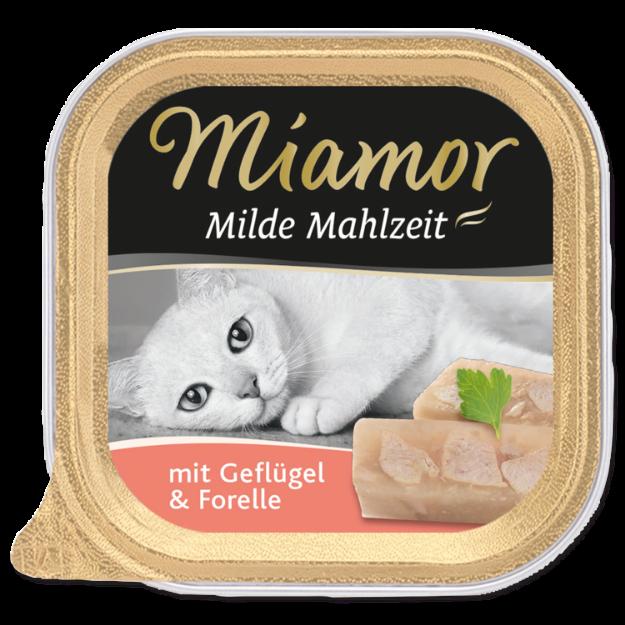 Picture of Vanička MIAMOR Milde Mahlzeit drůbež + pstruh 100g