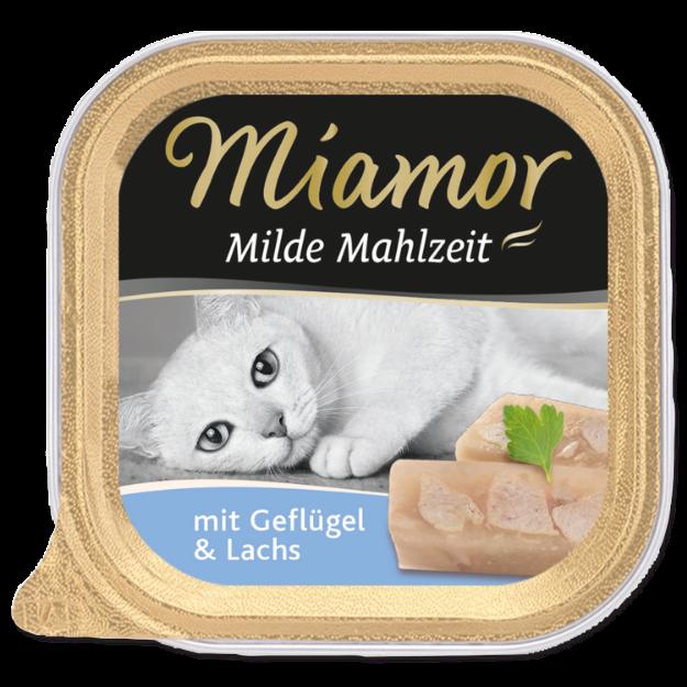 Picture of Vanička MIAMOR Milde Mahlzeit drůbež + losos 100g