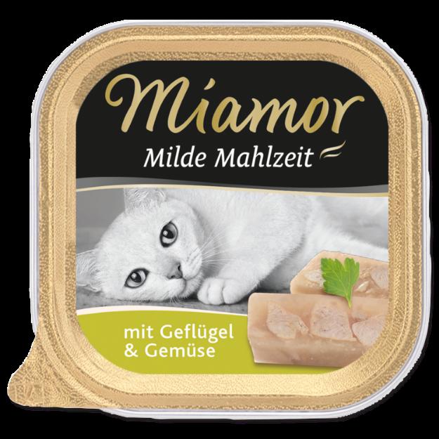 Picture of Vanička MIAMOR Milde Mahlzeit drůbež + zelenina 100g